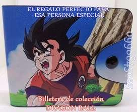 BILLETERA DE AVENGERS Y DRAGON BALL