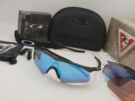 Gafas Oakley Lente Intercambiable Ciclismo