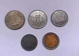 Bolivia monedas antiguas