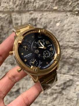 Reloj diesel 3 bar cronografos resistentes a 100 metros agua con pulso en acero o en cuero producto garantizado 100%. segunda mano  Urbanización Sidel