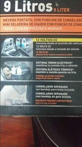Heladera portatil para auto 9 lt 12 V B&D