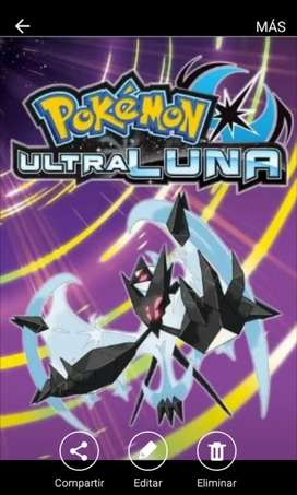 Pokemon ultra luna ultra moon 3ds