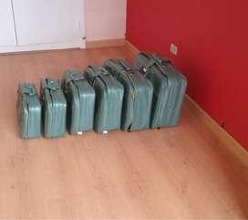 Set de 6 maletas !