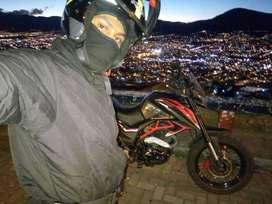 Busco empleo de mensajero motorizado, tengo mi propia moto