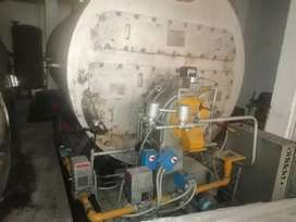 Caldera gas