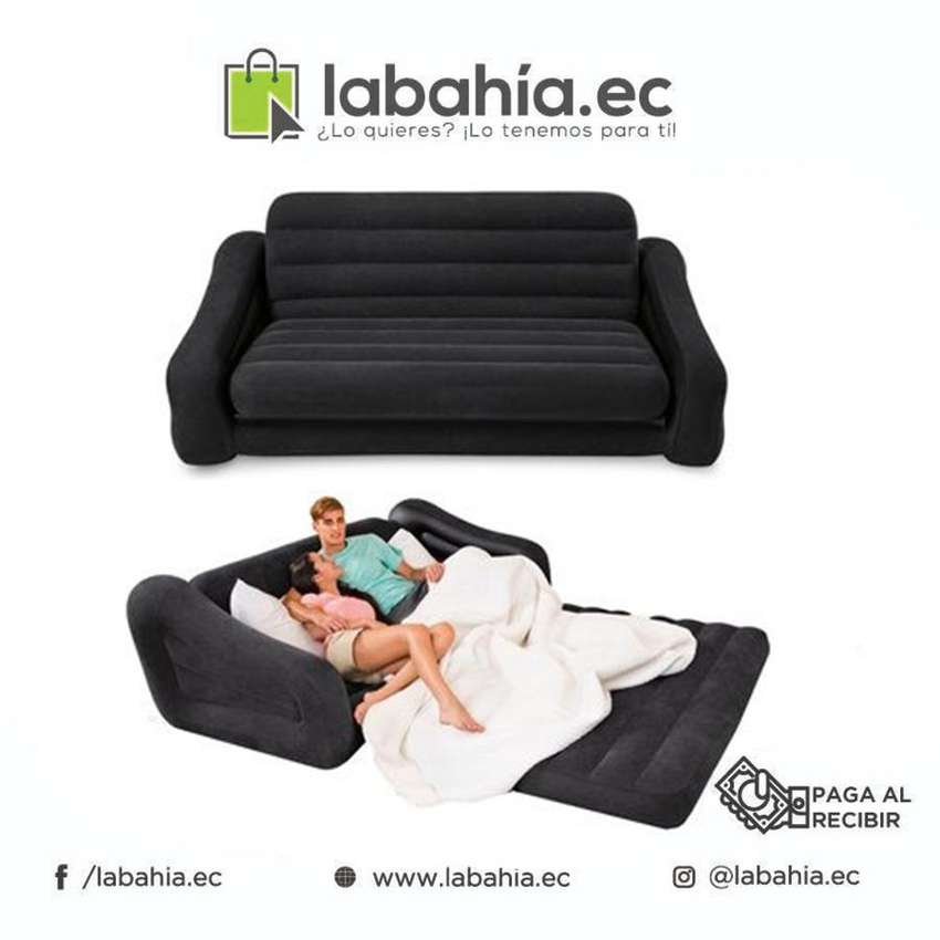 Sofa Cama Inflable INTEX 2 Plazas 0