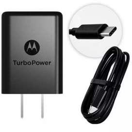 Cargador Motorola USB tipo C ORIGINAL