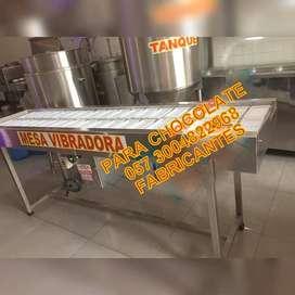 MESA VIBRADORA PARA CHOCOLATE