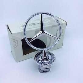 Emblema Capo Capot estrella Mercedes Benz