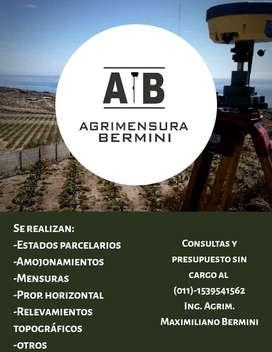 AGRIMENSURA BERMINI - en toda la provincia de BS.AS.