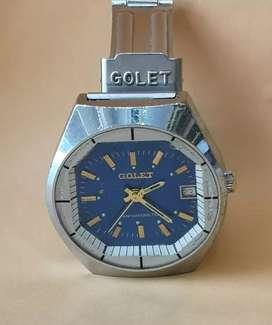 Antiguo y bonito reloj suizo de 1960 GOLET