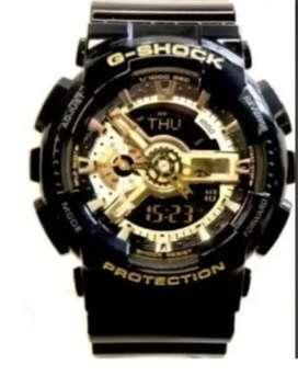 Reloj Casio G-Shock en Negro y Dorado