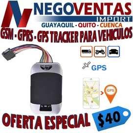 GMS GPRS Y GPS TRACKER PARA VEHICULOS