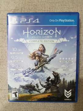 HORIZON ZERO DAWN COMPLETE EDITION PS4 NUEVO!!!