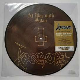 Venom At War With Satan Picture Disc 2017