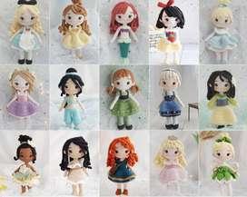 Patrón Princesas Crochet - Amigurumi Patterns