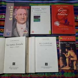 Libros, varios géneros