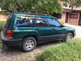 Subaru Forester 4x4 con alta y baja.