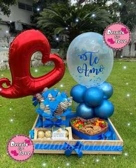 Regalos sorpresa detalles chocolates aniversario cumpleaños amor Guayaquil