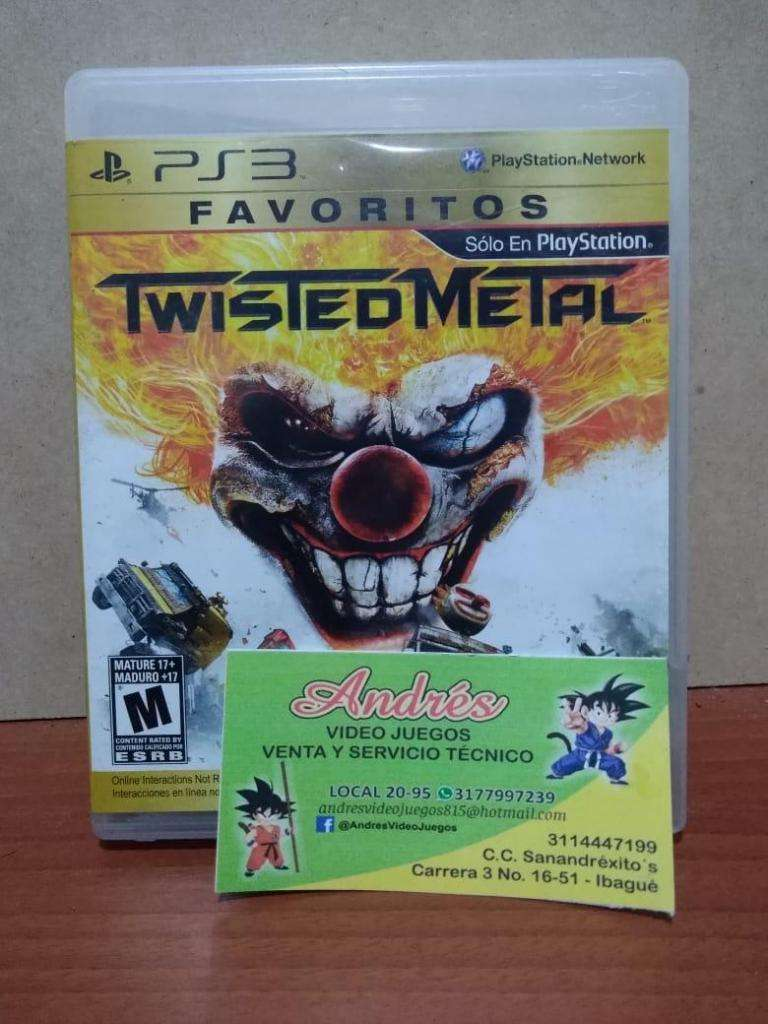 Twisted Metal Ps3 0