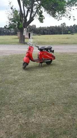 Siambreta 125cc de lujo