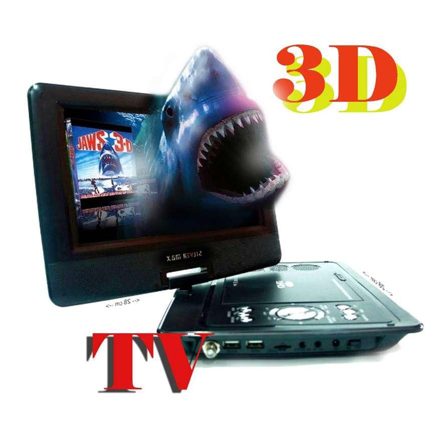 TV  DVD JUEGOS MP3 RADIO USB