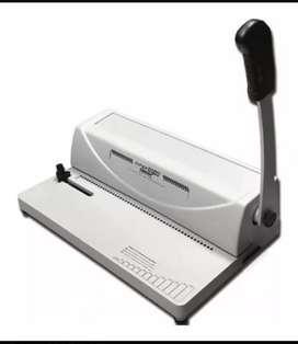 Espiraladora Anilladora A4 Profesional