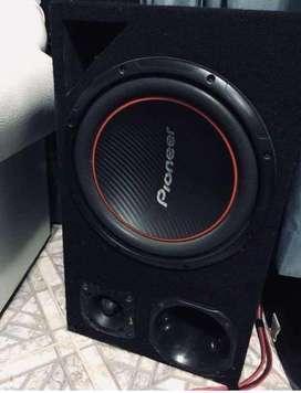 Audio y potencia Pioneer