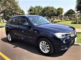 BMW X3 2015 2.0i Automática 56000km. 08 airbag neblineros aros, Motor 2.0i Cuero $.21,950.00