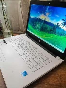 Portátil HP blanco