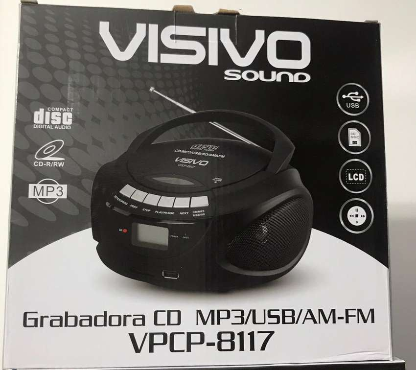 Grabadora Visivo CD -MP3/USB/Am-Fm ( Nuevo y garantizado) 0