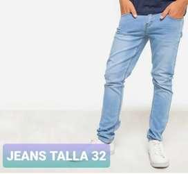 Jeans bearcliff talla 32 Original