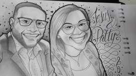 Caricaturas y retratos para regalar a tus seres queridos