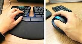 Microsoft Combo Teclado Mouse Sculpt Comfort Desktop USB