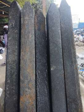 Se venden postes estantillos plástico