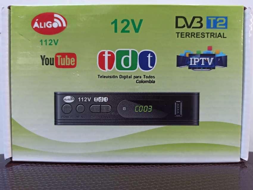 TDT 12VOLTIOS PARA CARRO, SEÑAL HD DIGITAL.