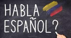 Español clases en todos los niveles. Disfruta de este lindo idioma!