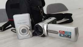 Vendo cámara digital y video grabadora