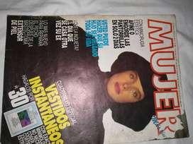 Revista mujer mayo 1987 económico con  molde