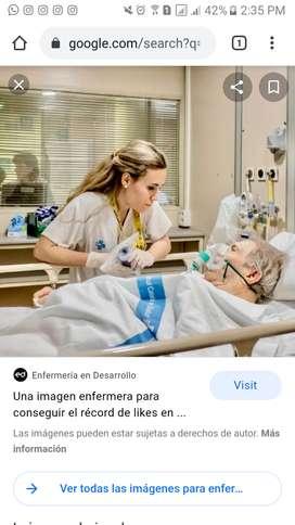 MUJER SOLTERA Y SIN HIJOS BUSCA EMPLEO COMO AUXILIAR DE ENFERMERÍA