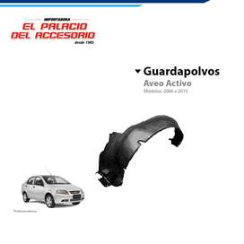 Guardapolvo Chevrolet Aveo Activo, Chevytaxi, Famili 2005 a 2018