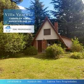 Vendo Cabaña Villa Ventana