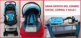 GRAN OFERTA DEL COMBO COCHE, CORRAL Y SILLA !