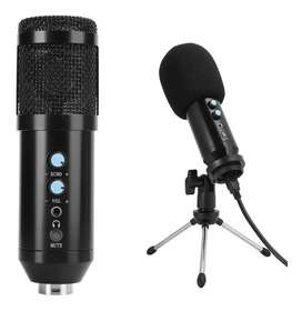 Micrófono Condensador Usb Con Trípode