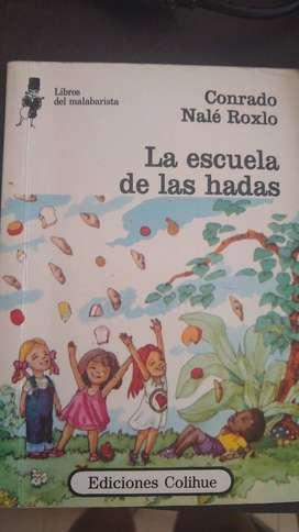 Libro de cuento La escuela de las Hadas Conrado Roxlo