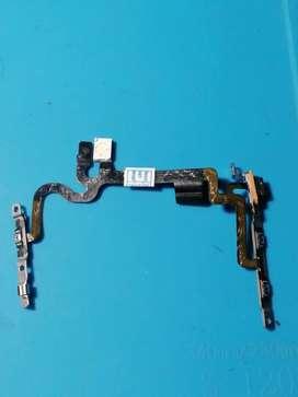 Botón flex power, volumen, flhas iphone 7 A1778