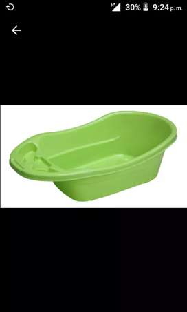 Bañera para BB verde