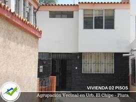 VIVIENDA 02 PISOS - URB. EL CHIPE, PIURA