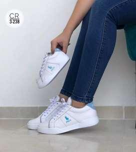 Zapato Tennis Deportivo Polo Unisex Familia Para Niños