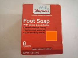 Jabón para pies cansados con aloe y salvado de bórax